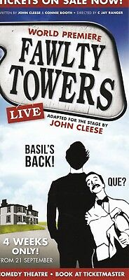 Fawlty Towers Australian Theatre Production Promo Flyer 2016 John Cleese