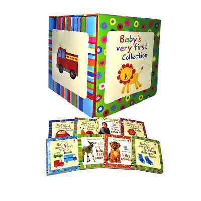 Baby's Very First Collection 8 Books Set Little Book of Baby Animals ....