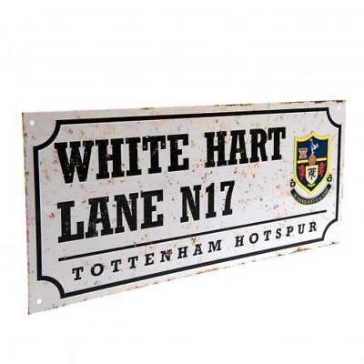 Tottenham Hotspur Fc Spurs Retro Street Sign White Hart Lane N17 Football New
