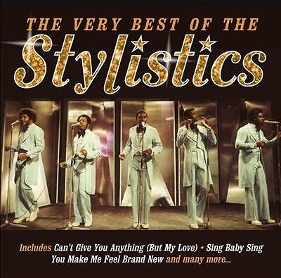 The Very Best of the Stylistics by The Stylistics (CD, Feb-2013, Spectrum...