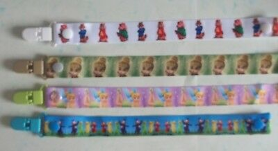 (6) Handmade Character Dummy Clips  - These Are Not Genuine Licensed Items