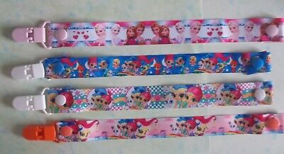 (8) Handmade Character Dummy Clips  - These Are Not Genuine Licensed Items