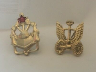 A Pair Unusual Russian Or Chinese Style Pins