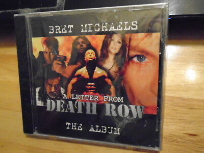 SEALED RARE OOP Bret Michaels CD A Letter From Death Row POISON Motley Crue rock