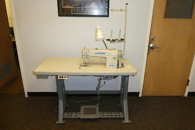 Consew 7360R Industrial Sewing Machine with Table, LOCAL PICK UP(390)