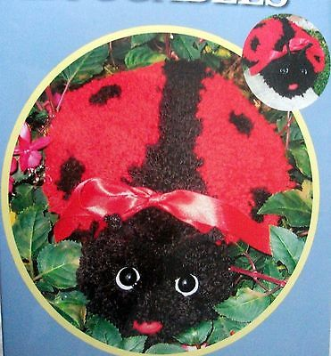 "Mcg Textiles Latch Hook  Huggable  Kit ""ladybug"""