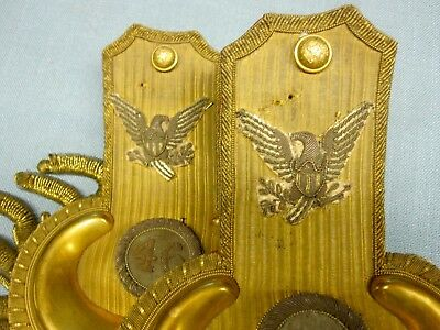 Civil War Infantry Colonel's Epaulettes, 46th Regiment.