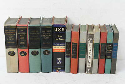 Lot of 13 Modern Library Classics: Home Staging Display Wedding Prop Books