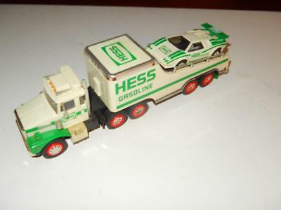 Older Hess Truck - 1988  Truck W/car -Used- Incomplete  - L247