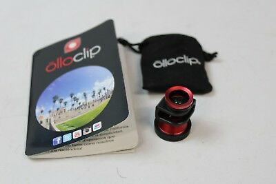 OlloClip, Includes Booklet, Red