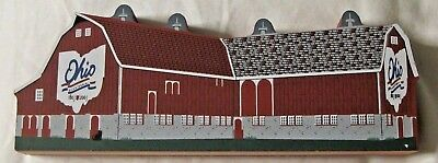 Ohio Bicentennial Barn #36 Defiance County Cats Cat's Meow  2001 Signed 2002