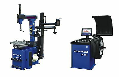 "Professional Tyre Changer (11""-26"") & Wheel Balancer Machine Combo-2 CE Standard"