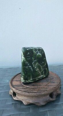 Greenstone Rare Natural Pebble display - New Zealand Not Seen Much Now For Sale
