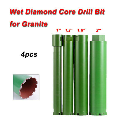 1'' 1.2'' 1.5'' 2''Combo Wet Diamond Core Drill Bit for Concrete Premium Green