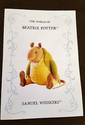 Alan Dart - Beatrix Potter - Samuel Whiskers - Toy Knitting Pattern