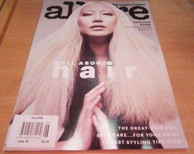 Allure magazine Jun 2018: All about hair SooJoo Park is redefining beauty & more
