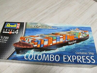 139MB - Revell 05152 - 1:700 - Bausatz Container Ship Colombo Express neu in OVP