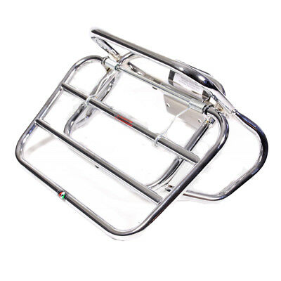 LUGGAGE RACK CUPPINI Carrier in Chrome for Rear PIAGGIO VESPA ET2 ET4 50-150ccm