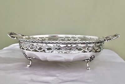 Antique Silver Plated Twin Handled Footed Tureen MARPLES & Co Sheffield C1900