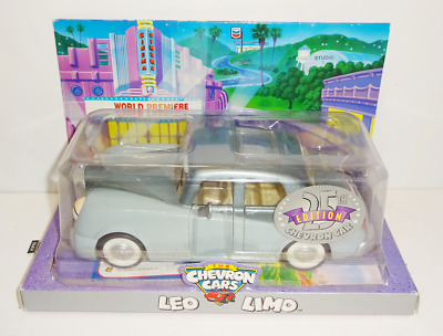 """The Chevron Cars """"Leo Limo"""" Collectible Toy Car 2000 NIP"""