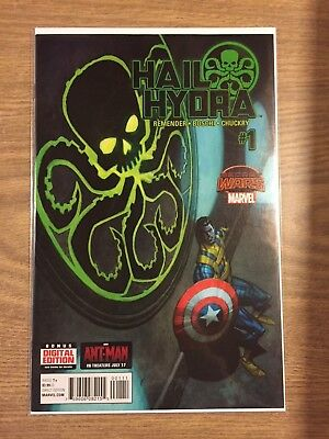 Hail Hydra (Marvel) #1 2015 VF to NM , Closer to NM