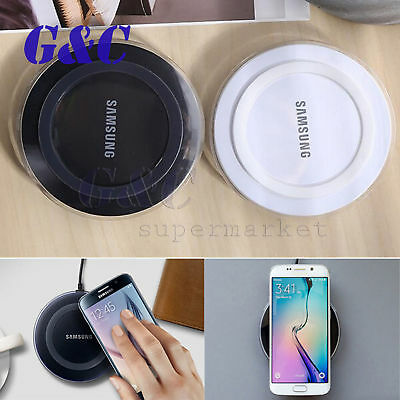 10W Qi Wireless Charger Charging Dock Mat Pad For iPhone X Samsung