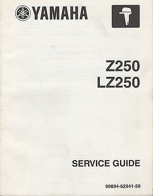 2002 Yamaha Outboard Motor Z250, Lz250 Service Guide (811)