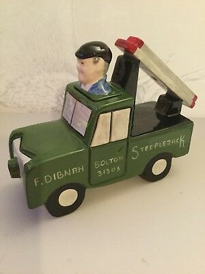 Lorna Bailey - Fred Dibnah MBE - Fred in his Landrover - Limited Edition 2 of 50
