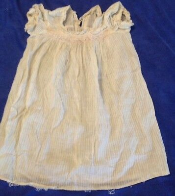 Vintage Antique Baby/child's Clothing Smocked Dress Dorothy Joan