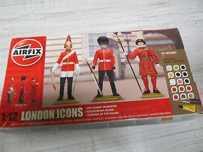 139MB - Airfix 50131 - 1:12 - Bausatz Figuren London Icons - neu in OVP