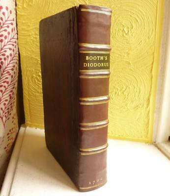 A HISTORY OF THE ANCIENT WORLD by DIODORUS SICULUS, 1700.