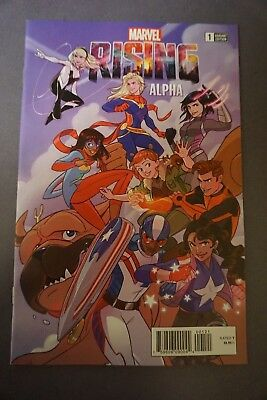 Marvel Rising ALPHA #1 Stacey Lee 1:25 Variant Devin Grayson, Georges Duarte NM+