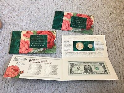 1997 United States Botanic Garden Coinage and Currency Set