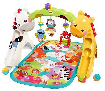 Fisher Price Newborn to Toddler Kids Baby Toy Floor Gym Music Play Activity Mat
