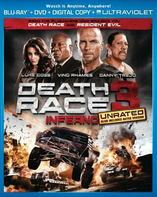 Death Race 3: Inferno [Blu-ray] NEW!