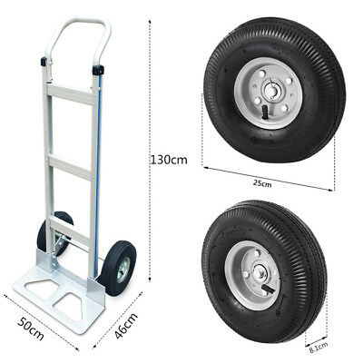 A30 Rugged Aluminium Luggage Trolley Hand Truck Folding Foldable Shopping Cart