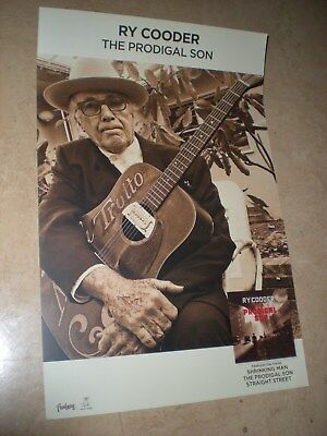 POSTER by RY COODER the prodigal son For the new release promo tour album cd *