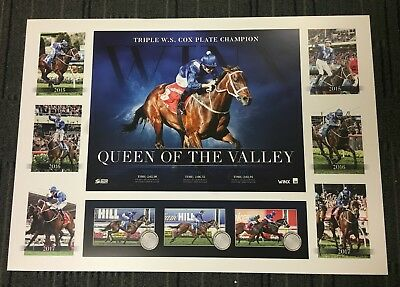 Winx Horse Racing Queen Of The Valley Triple Cox Plate Winners Tribute Print