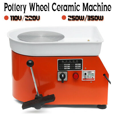 110V/220V Electric Pottery Wheel Machine For Ceramic Work Clay Art Craft
