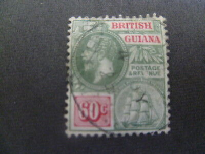 British Guiana Simplified SG 280 catalogue £48 - cannot see wmark -  Ref HP1