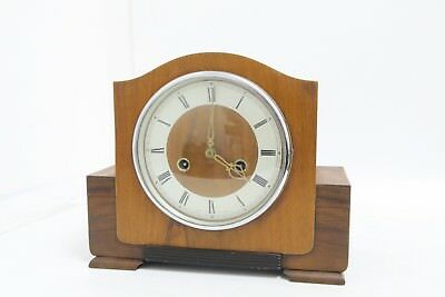 Eight Day Striking Mantel Clock - Working but not Serviced - No Key (CR127)