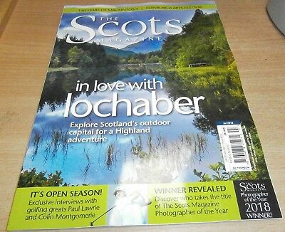 The Scots magazine JUL '18 Lochaber highland adventure +Photographer of the Year