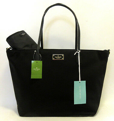 Kate Spade Margareta Blake Avenue Diaper Baby Bag Nylon Multipurpose Tote NWT