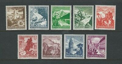 Germany (Third Reich) 1938 MM Winter Relief sg 663/71