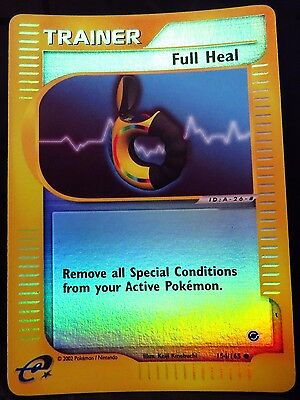 Pokemon FULL HEAL Trainer Expedition 154/165 Reverse Holo Common Mint