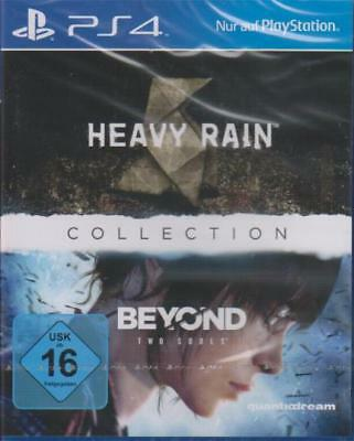 Playstation 4 HEAVY RAIN + Beyond Two Souls Quantic Dream Collection NEU
