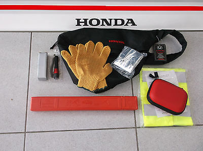 Genuine Honda Safety Bag Rucksack Compact Folding Warning Triangle Emergency Kit