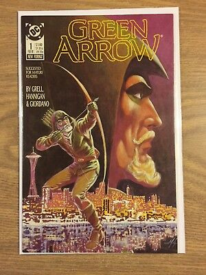 Green Arrow (1st Series) #1 1988 VF to NM  DC