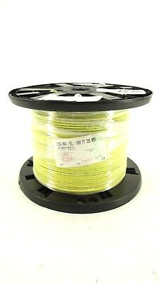Belden 1855A (Yellow) 1000 Foot Spool Coax Video Communication Cable