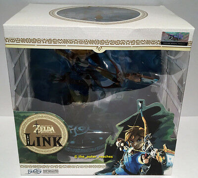 "F4F First 4 Figures Legend of Zelda Breath of The Wild 10""PVC Statue LINK Figure"